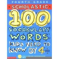 孩子们需要知道的100个单词 英文原版 100 Vocabulary Words Kids Need to Know by 4th Grade 四年级