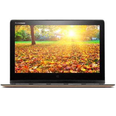 Lenovo联想 YOGA 3 PRO 13.3英寸触控超极本(双核5Y71 4G 256G固态硬盘 高清炫彩屏 背光键盘 摄像头 蓝牙 Win8.1)香槟金