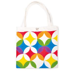 【特惠】HapeDIY涂鸦手提袋4岁以上儿童创意早教涂鸦DIY手提袋绘画手工E5107