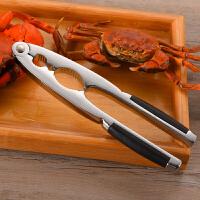 吃螃蟹工具大闸蟹钳 吃蟹工具三件套 非蟹八件剥蟹工具不锈钢