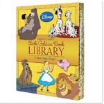 【预订】Disney Classics Little Golden Book Library