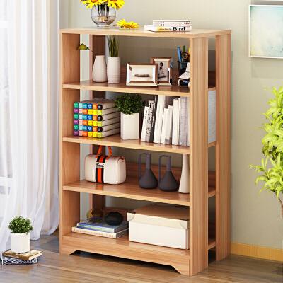 亿家达简易书架落地置物柜收纳柜简约经济型书橱多功能学生储物柜