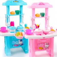 儿童过家家厨房玩具套装 女孩仿真厨具宝宝做饭煮饭1-3-6周岁女童