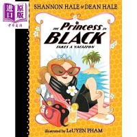 【中商原版】黑衣小公主全彩章节书 The Princess in Black Takes a Holiday