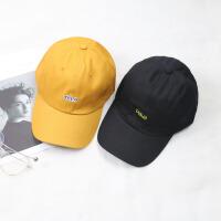 帽子女嘻哈帽棒球帽时尚韩版潮人百搭遮阳帽黑白色休闲出游防晒鸭舌帽