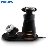 飞利浦 (Philips) S8860/62复古多功能电动剃须刀 全身水洗礼盒装无线感应充电式刮胡刀