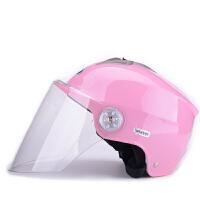 野马330夏季电动车头盔 摩托车安全帽男女通用 夏天防晒防紫外线半盔
