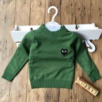 男女童加绒兔绒毛衣装宝宝打底衣羊绒衫加厚针织衫婴幼儿毛线衣