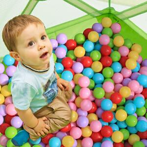 【当当自营】费雪儿童海洋球球池彩色投篮波波球围栏宝宝室内游乐场玩具 F0520