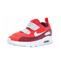 【到手价:299.5元】耐克(Nike)童鞋 减震气垫鞋 男女童防滑耐磨运动鞋881927-603 红色/白色