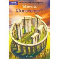 【现货】英文原版 Where is Stonehenge? 巨石阵在哪儿? who was/is认知系列 中小学生读物