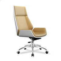 美立居工坊会议椅高背老板椅MLJ-38西皮