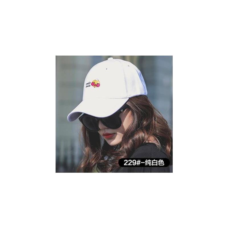 鸭舌帽子女网红同款时尚户外运动新品韩版潮字母遮阳帽防晒女士嘻哈棒球帽 品质保证 售后无忧