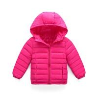 反季新款童装中大童羽绒服轻薄男女宝宝婴幼儿保暖儿童连帽外套