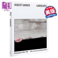 奥古斯特.桑德:风景摄影1926-1946 英文原版 Landscapes: Photographs 1926-194