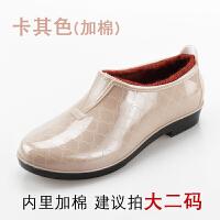 低帮雨鞋女士水鞋雨靴短筒时尚防水鞋防滑浅口胶鞋套鞋生活日用雨具