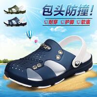 新款2018春夏儿童休闲凉鞋防滑男童中大童学生软底沙滩鞋
