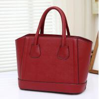 红色包款时尚女包大容量简约单肩包手提包女士大包包娘包婚包