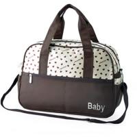 印花妈咪包大容量斜挎单肩待产包母婴包