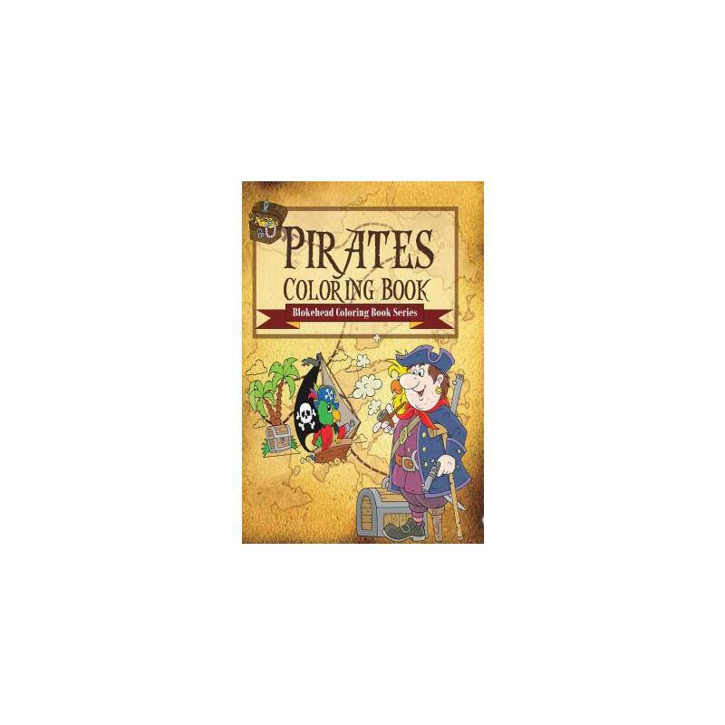【预订】Pirates Coloring Book 预订商品,需要1-3个月发货,非质量问题不接受退换货。
