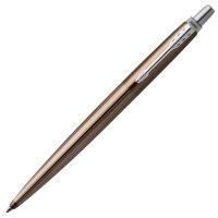 PARKER 派克乔特卡莱尔棕细纹白夹凝胶水笔