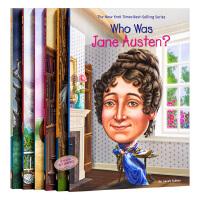 Who Was 系列作家6册套装儿童读物 英文原版 青少年读物 初级章节书 儿童文学 国外