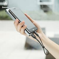 倍思 苹果数据线iphone6手机安卓二合一充电线器7便携短两用通用