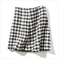 羊毛针织风半身裙 女F802X0