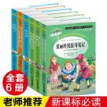 爱丽丝漫游奇境记 小王子 柳林风声 水孩子列那狐的故事全6册人生必读书儿童书籍三四五六年级小学生课外阅读书世界名著童话