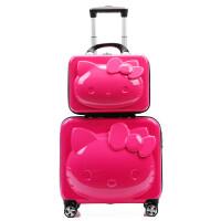 儿童拉杆箱行李箱女20寸万向轮密码皮箱母箱可爱公主女童旅行箱