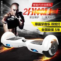 龙吟两轮体感电动扭扭车成人智能漂移思维代步车儿童双轮平衡车