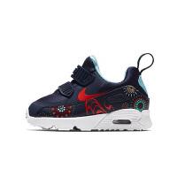 【1件4折】耐克(Nike)童鞋 减震气垫鞋 男女童防滑耐磨运动鞋 AO2096-400 深蓝09C/26码