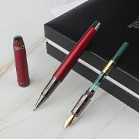 一笔两用 HERO/英雄钢笔2060墨水笔宝珠笔礼物*盒套装男士商务办公*成人练字学生用