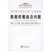 现代统计研究丛著:数据挖掘前沿问题 中国统计出版社