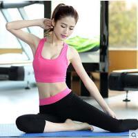 春夏季莫代尔七分裤运动跑步背心显瘦款户外新款瑜伽健身服套装女