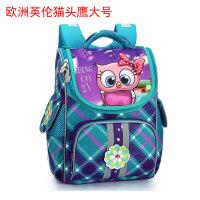 美奇书包男学生包小学生女1-3一年级男孩儿童日本减负双肩背书包