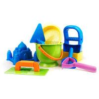 儿童沙滩玩具套装铲子玩沙工具沙池挖沙滩桶海边戏水小桶沙子
