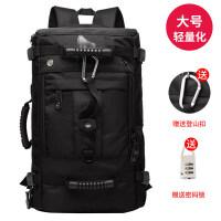 0317202803560双肩包男旅行大容量行李背包户外登山包多功能手提休闲出差旅游包