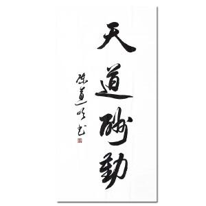 著名演员 中国书法家协会会员 陈道明 《书法附画册》DW254