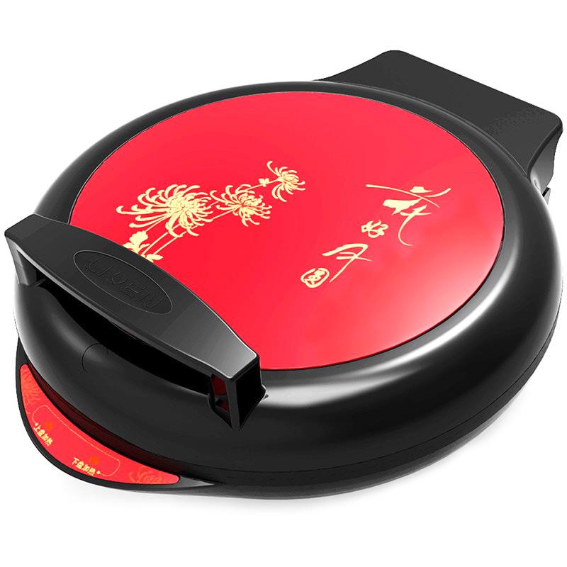 利仁 电饼铛 LR-280A【货到付款】支持礼品卡 180度展开,上下盘单独控制,彩钢面板更时尚!