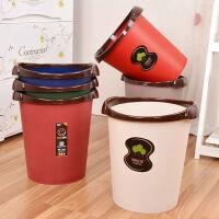 20191211111043412【买1送1同款】带压圈分类垃圾桶家用厨房卫生间客厅卧室大号垃圾篓垃圾筒