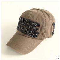 男女士遮阳防晒帽潮 棒球帽字母刺绣鸭 舌帽户外休闲帽 运动帽