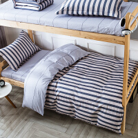 学生宿舍床上三件套全棉纯棉被套1.5床单0.9m1.2米床单人寝室床品