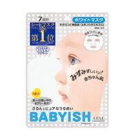 高丝 KOSE BABYISH婴儿肌面膜 7枚入 补水保湿