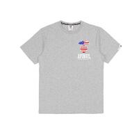 Aape猿人头男士短袖T恤AAPTEM2580XX6灰