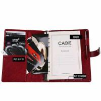 卡杰A5商务记事文具笔记本子创意密码本办公文具带锁日记本