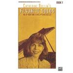 【预订】Catherine Rollin's Favorite Solos: Book 1: 10 of Her Or