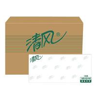 清风 经典100抽面巾纸 抽纸 纸巾餐巾纸206*195mm 96包装