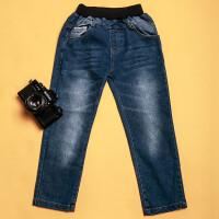【领卷:79元选3】加菲猫男童牛仔长裤GPZ17439