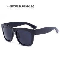 5P5 新款男女士太阳镜偏光镜潮人黑明星款大框太阳眼镜复古墨镜
